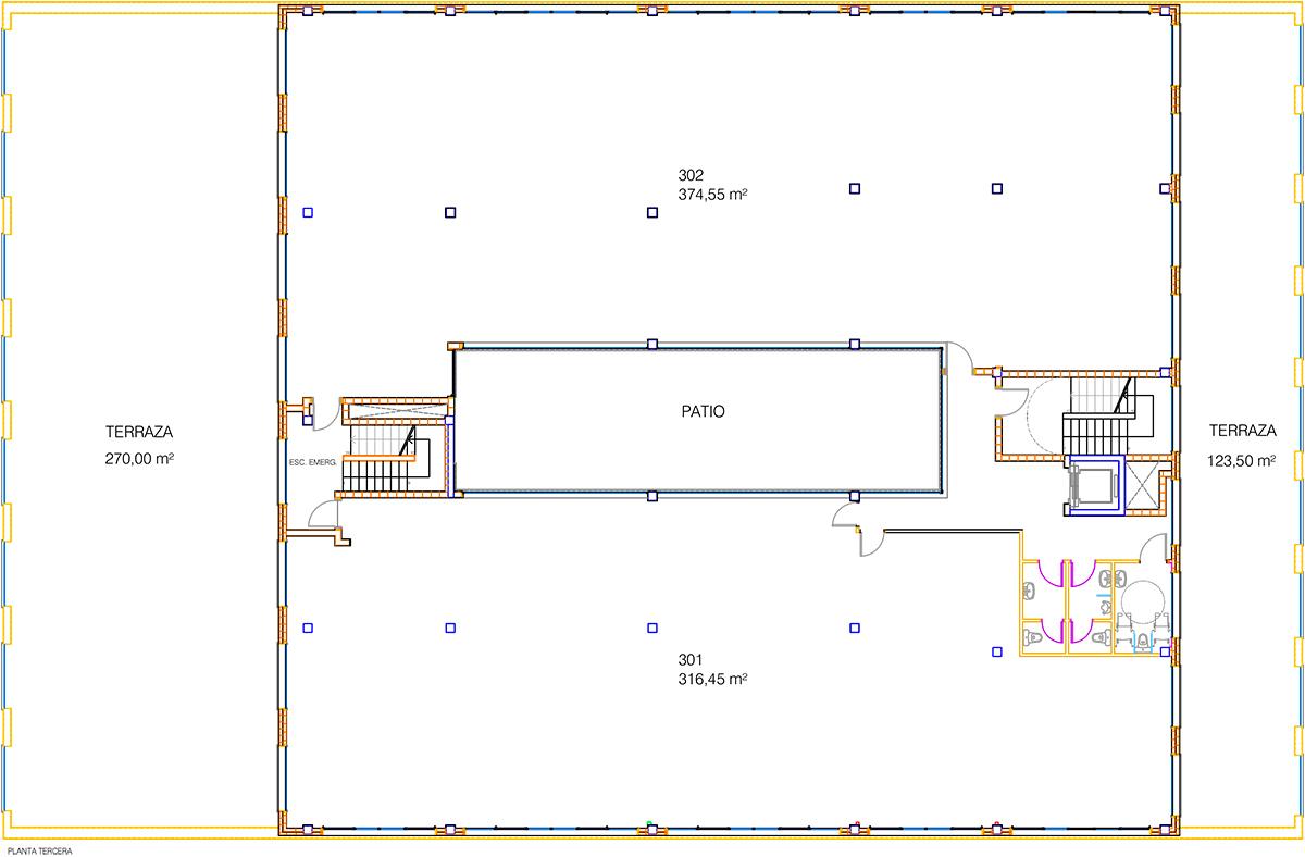 Akarregi, 10 plano oficinas planta 3